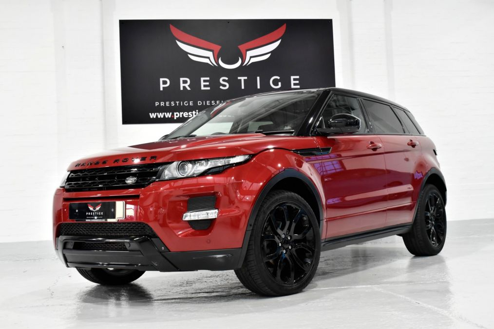 Used LAND ROVER RANGE ROVER EVOQUE in Portsmouth, Hampshire for sale