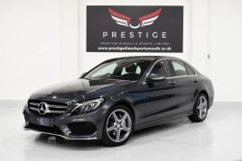MERCEDES C-CLASS C220 BLUETEC AMG LINE PREMIUM PLUS - 433 - 1